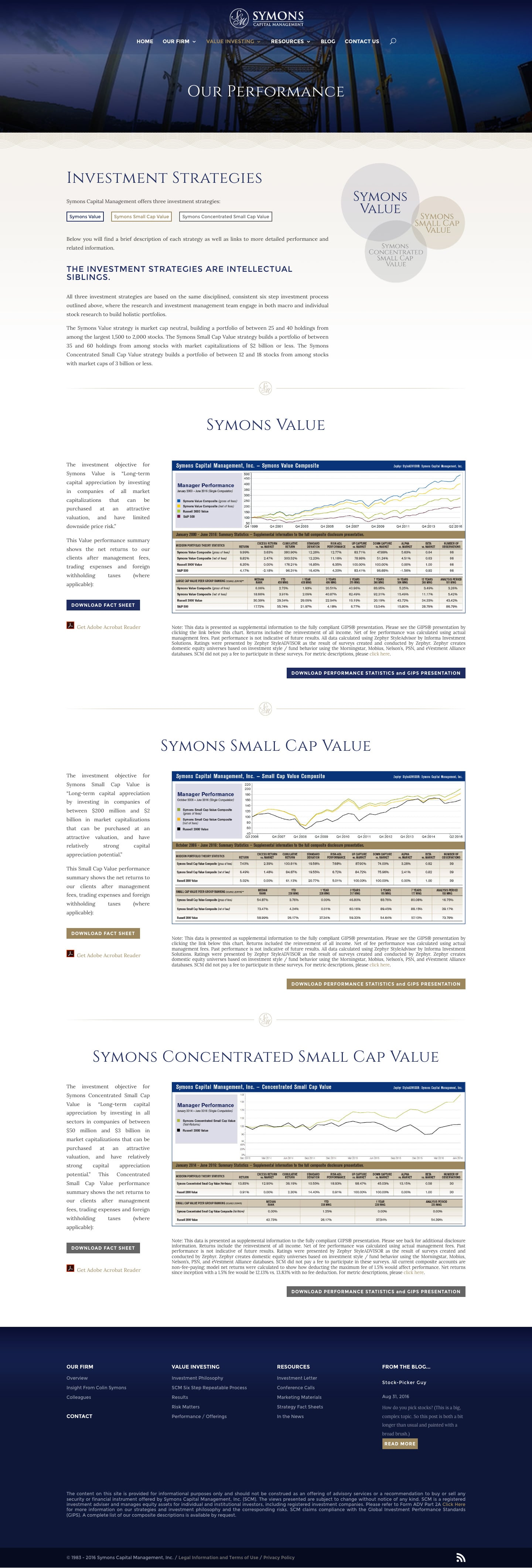 Symons Capital Sub Page